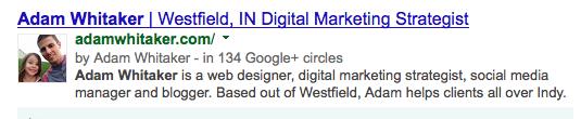 Adam Whitaker Google Authorship